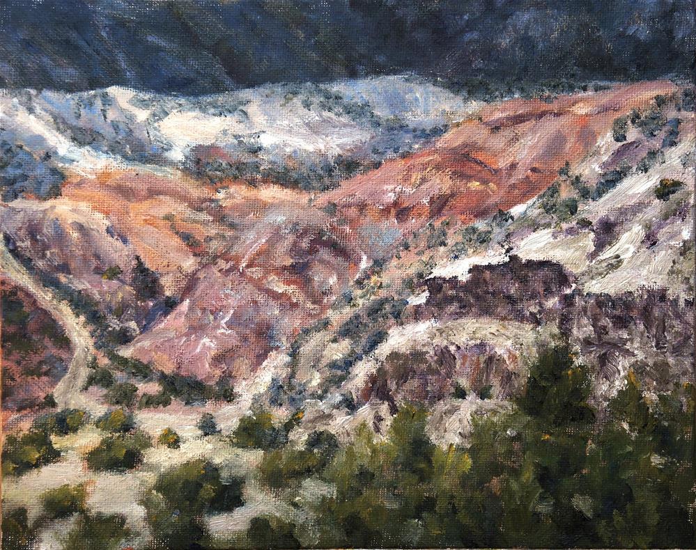 """""""Near Ghost Ranch"""" original fine art by Candi Hogan"""