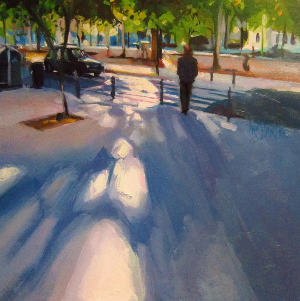 """Floor shades"" original fine art by Víctor Tristante"