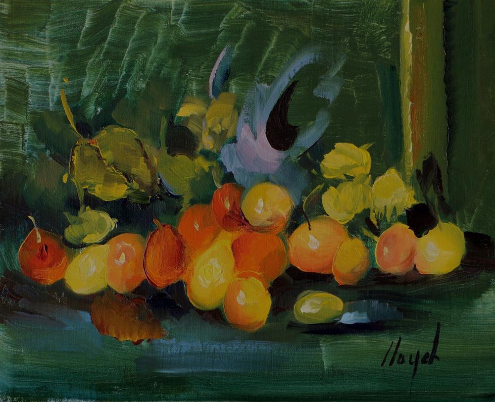 """""""Produce"""" original fine art by Diane Lloyd"""