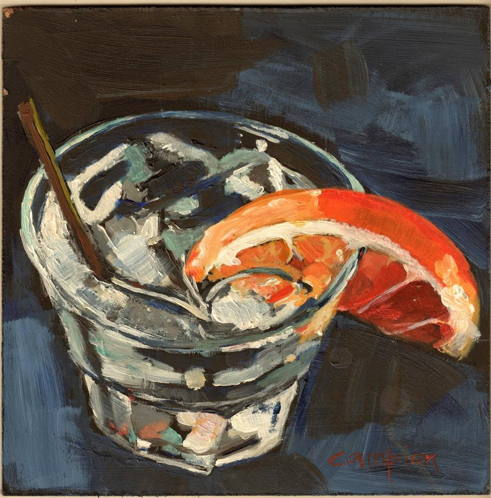 """342 On the Rocks"" original fine art by Diane Campion"