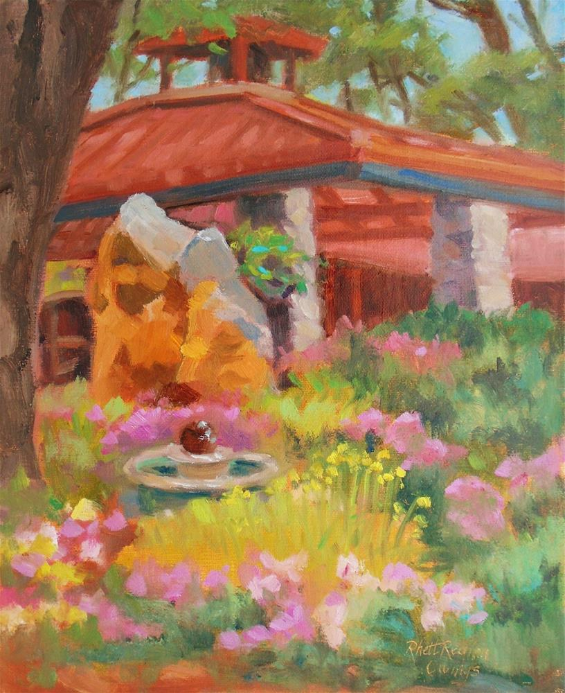"""""""Ironstone's Ironstone"""" original fine art by Rhett Regina Owings"""