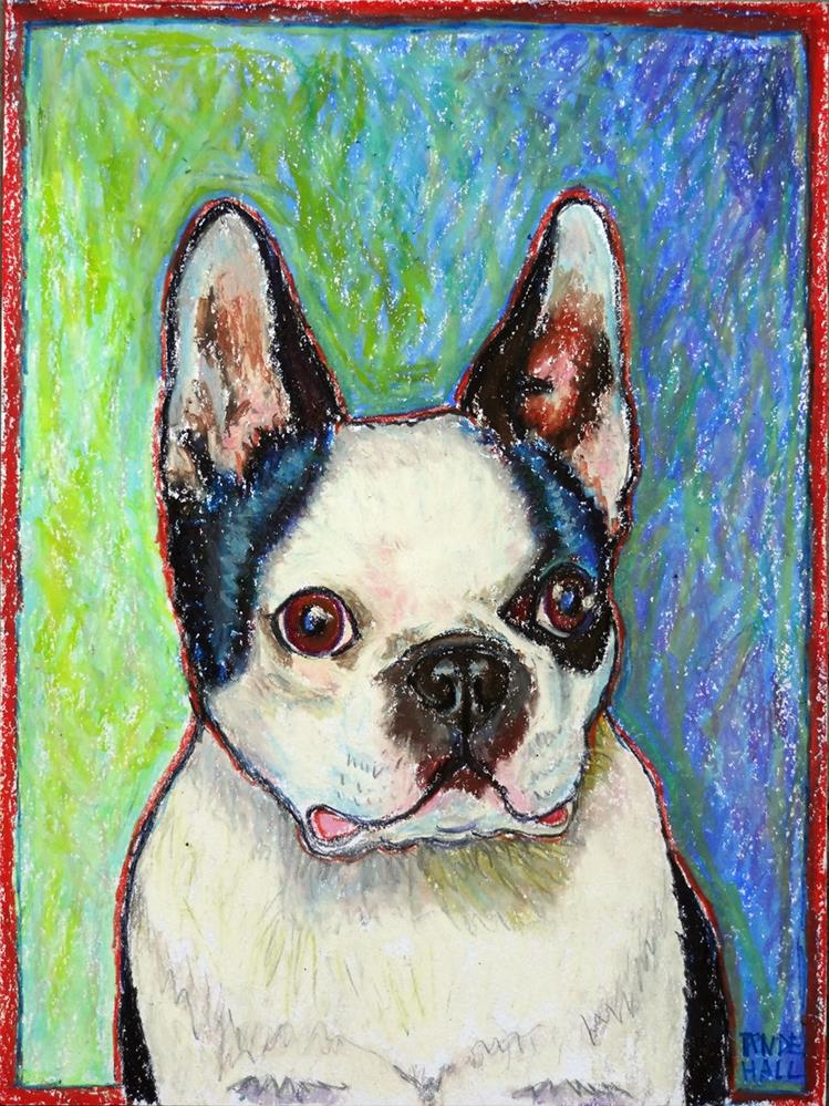 """""""Buster"""" original fine art by Ande Hall"""