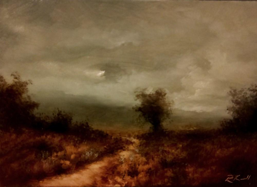 """Around the Bend"" original fine art by Bob Kimball"