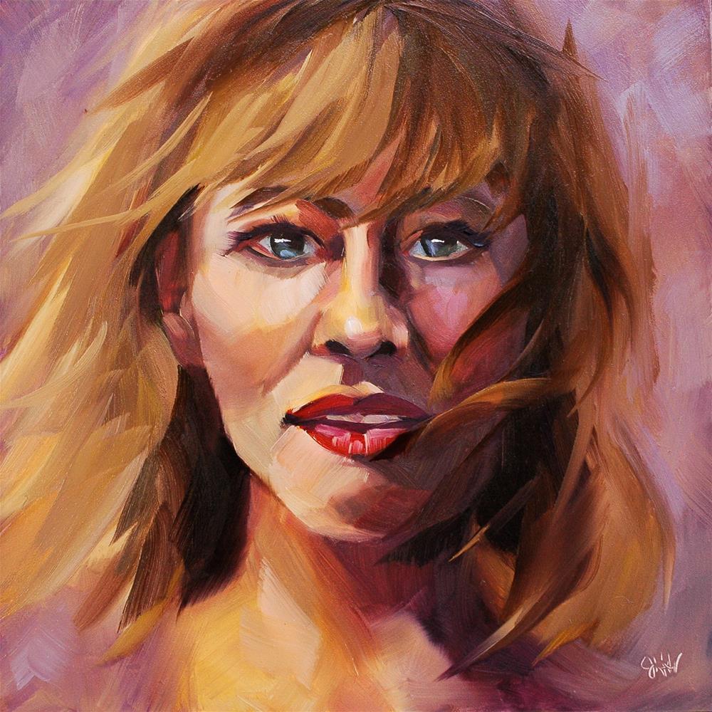 """""""Breezy"""" original fine art by Janette Harter"""