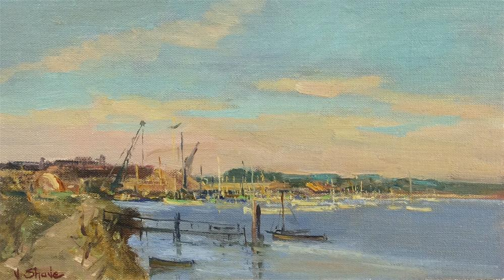 """Heybridge"" original fine art by John Shave"