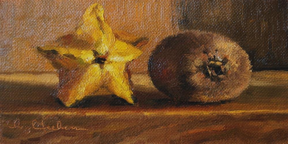 """Tropical Fruit"" original fine art by Cheryl Meehan"