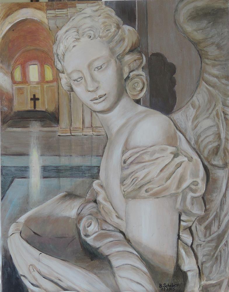 """""""Offerings"""" original fine art by Belinda Scheber"""