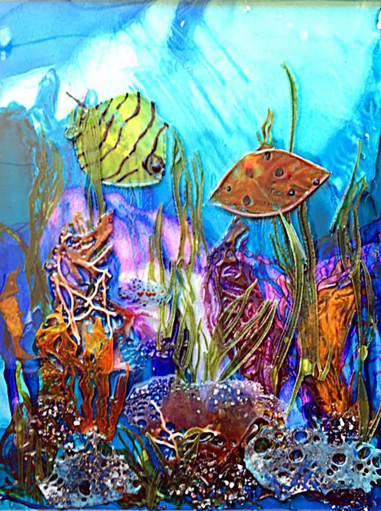"""Under The Sea"" original fine art by Kristen Dukat"