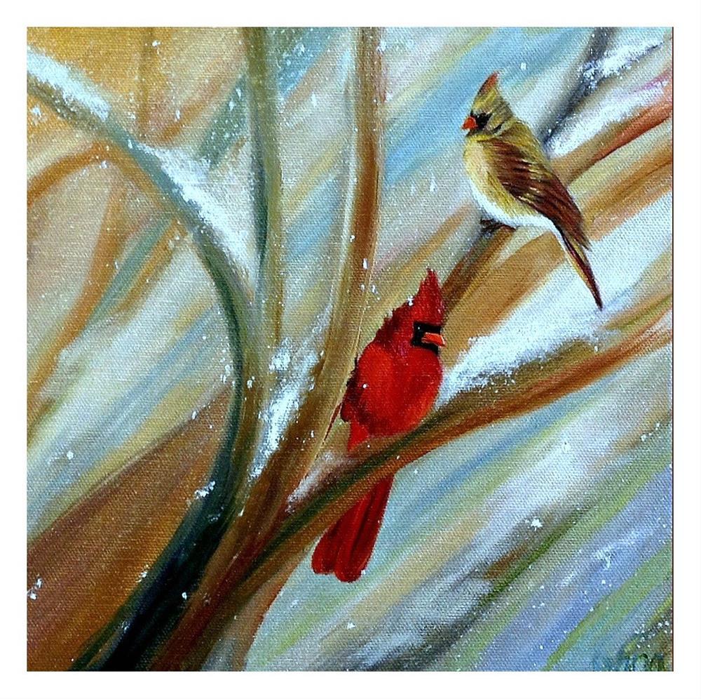 """Winter's Here"" original fine art by Dana C"