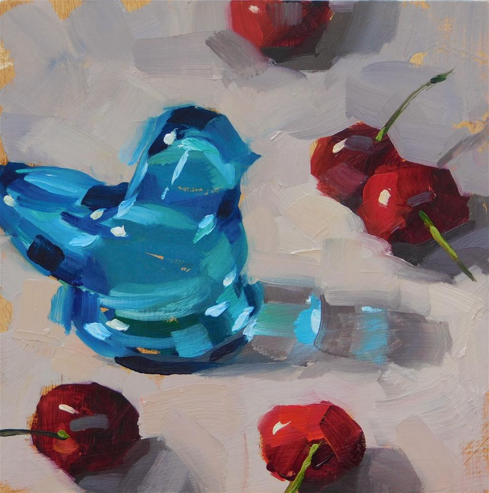 """""""Seet Tweet"""" original fine art by Karen Werner"""