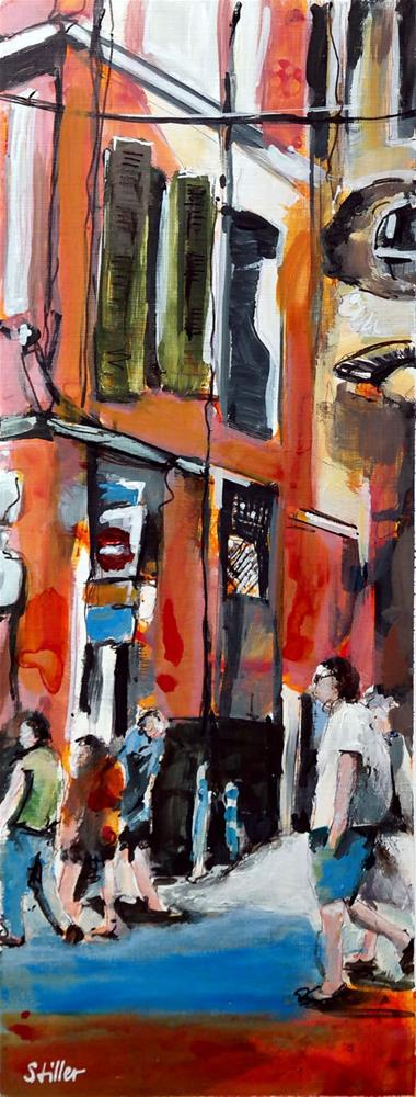 """2401 Palma Streetview 9"" original fine art by Dietmar Stiller"