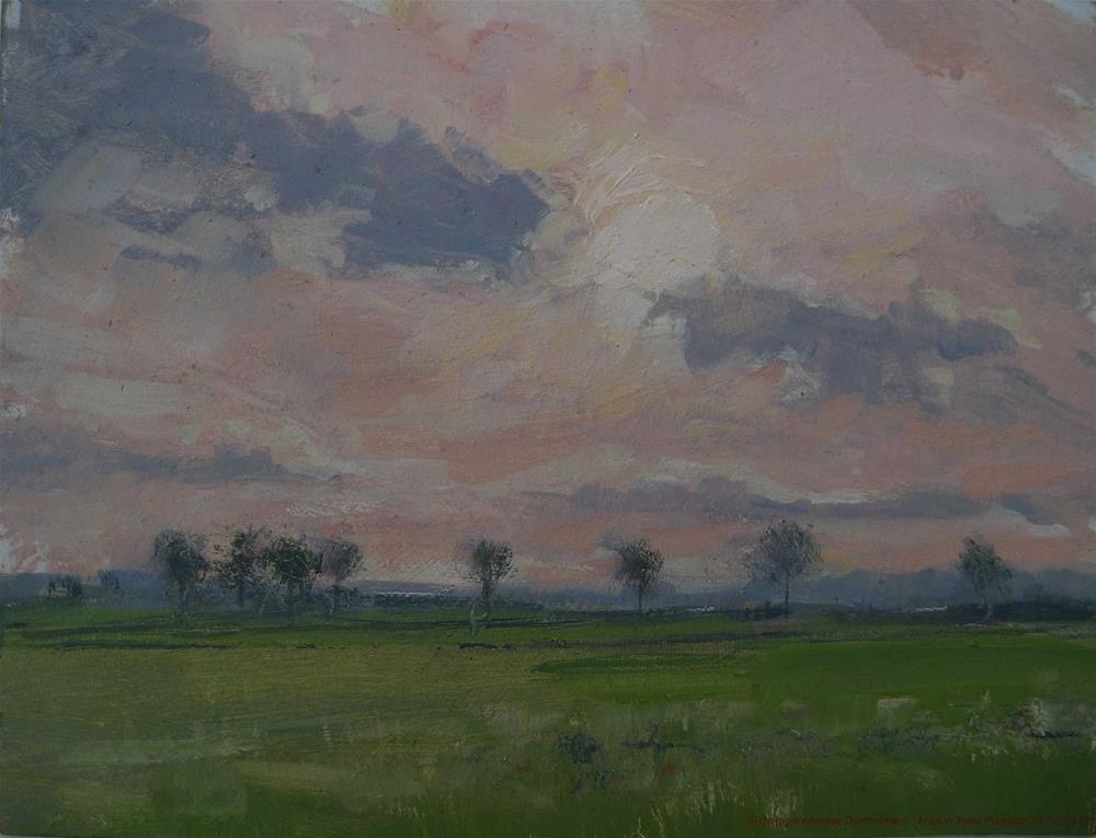 """Running out of time. Doetinchem, the Netherlands"" original fine art by René PleinAir"