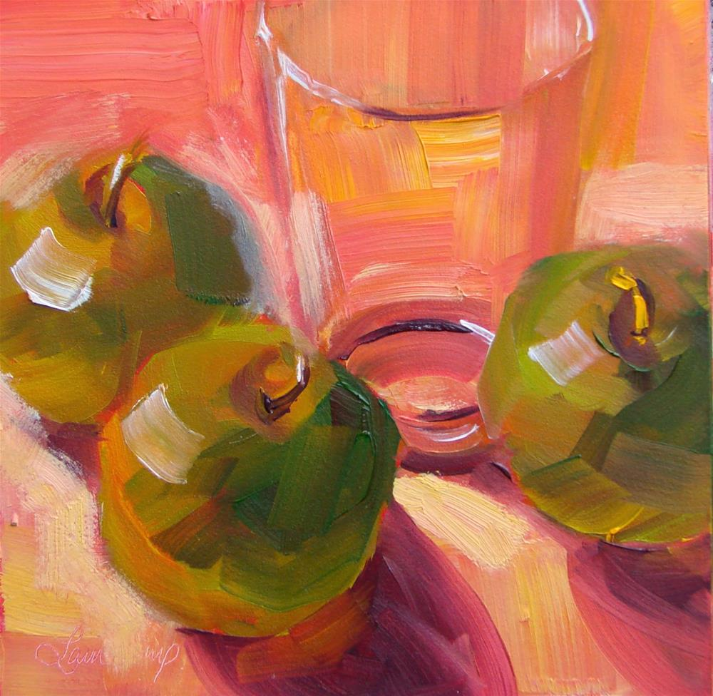 """""""BeforeThey Are Juice 150"""" original fine art by Laura  Buxo"""
