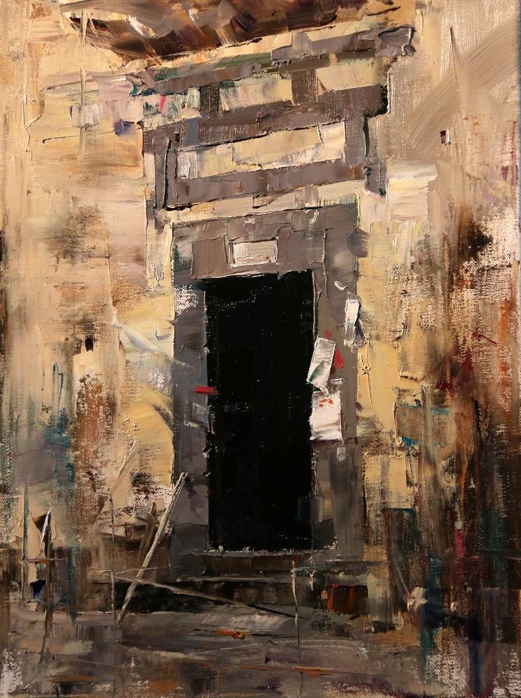 """Demo at Putney 2016 4"" original fine art by Qiang Huang"