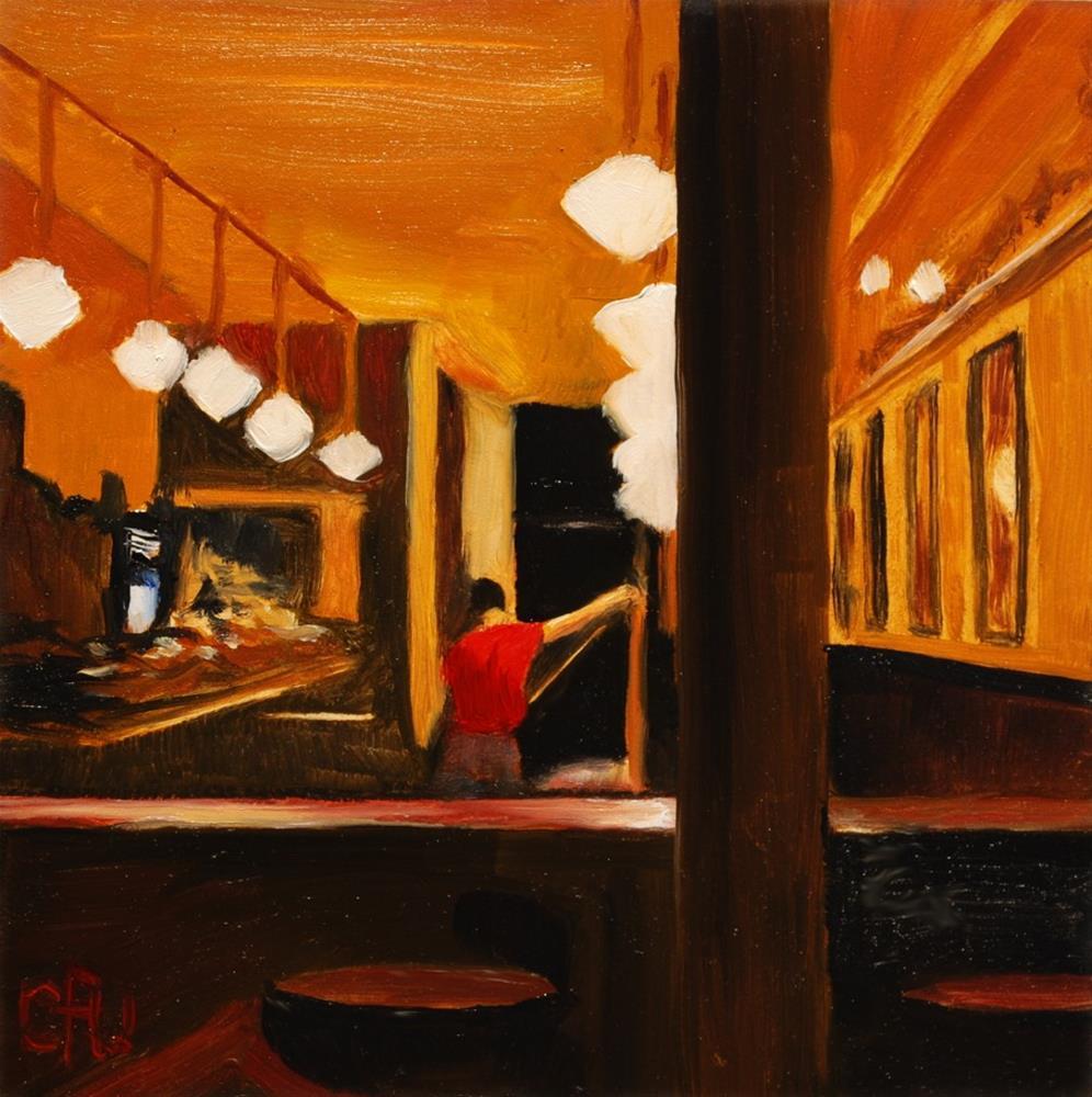 """Night Work"" original fine art by Gary Westlake"