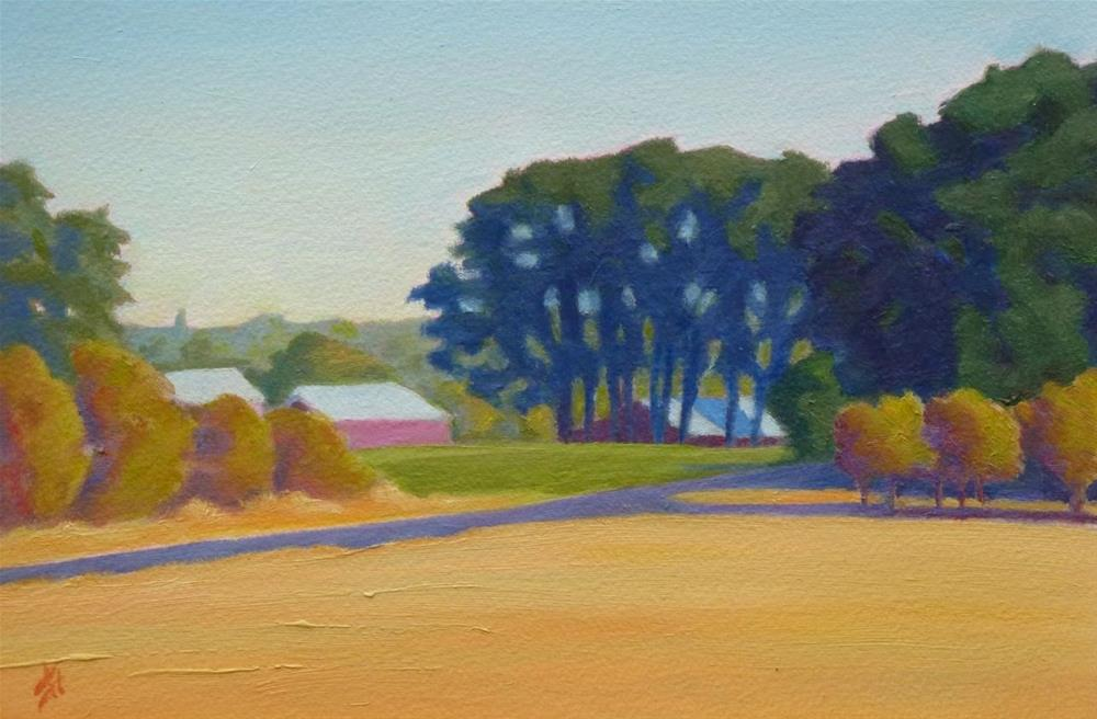 """Oak Grove"" original fine art by Mark Allison"