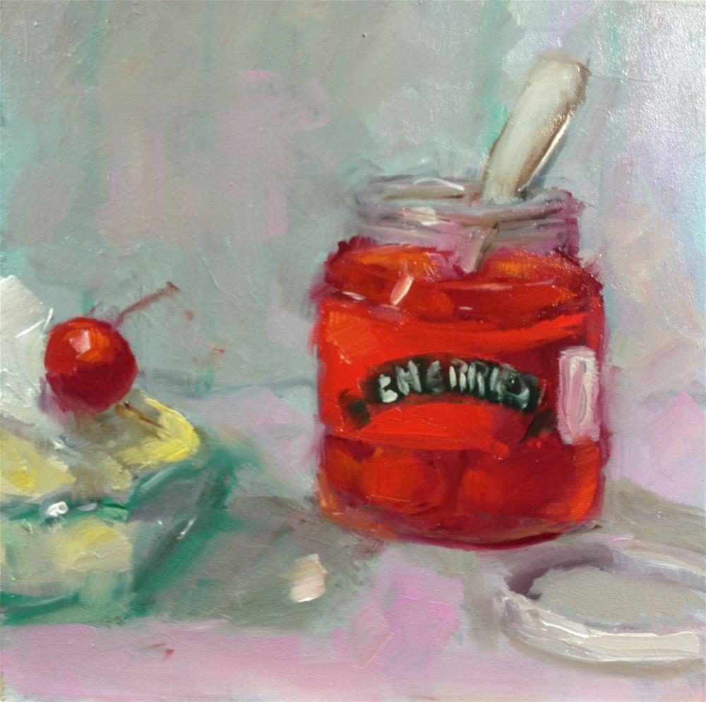 """Finishing Touch"" original fine art by Carol Josefiak"