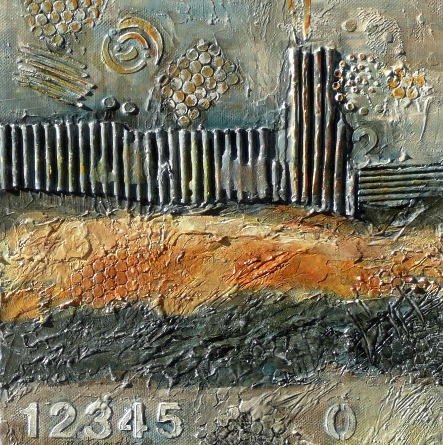 """""""Ancient City Myths 11043 SOLD"""" original fine art by Nancy Standlee"""