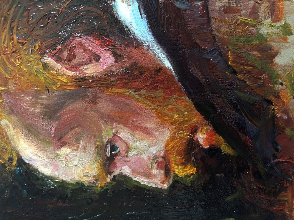 """The Van Gogh Effect"" original fine art by Adebanji Alade"