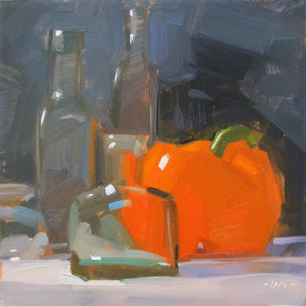 """Don't Bottle it Up"" original fine art by Carol Marine"