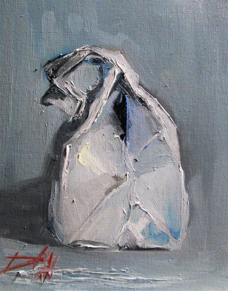 """Paper Bag"" original fine art by Delilah Smith"