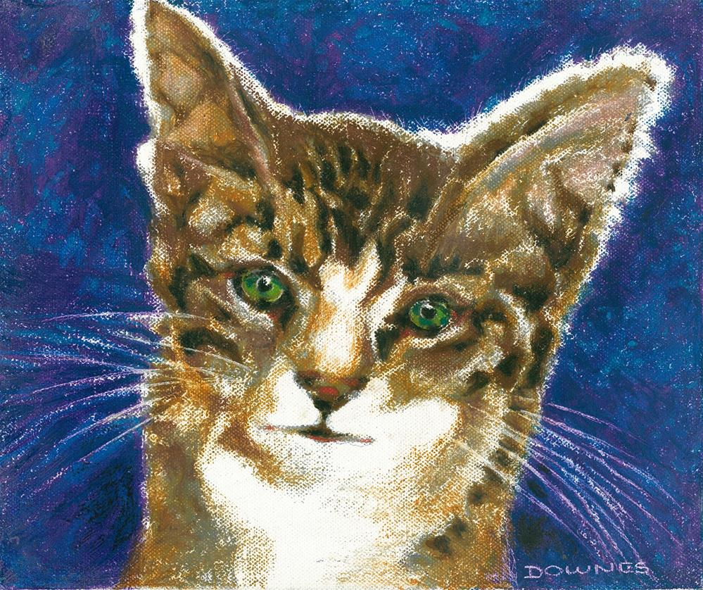 """138 CAT 3 EMERALD"" original fine art by Trevor Downes"