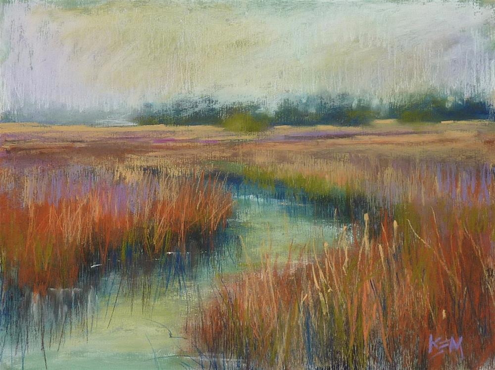 """""""New Video Demo Release! Working with a Budget Limited Palette Set of Pastels"""" original fine art by Karen Margulis"""