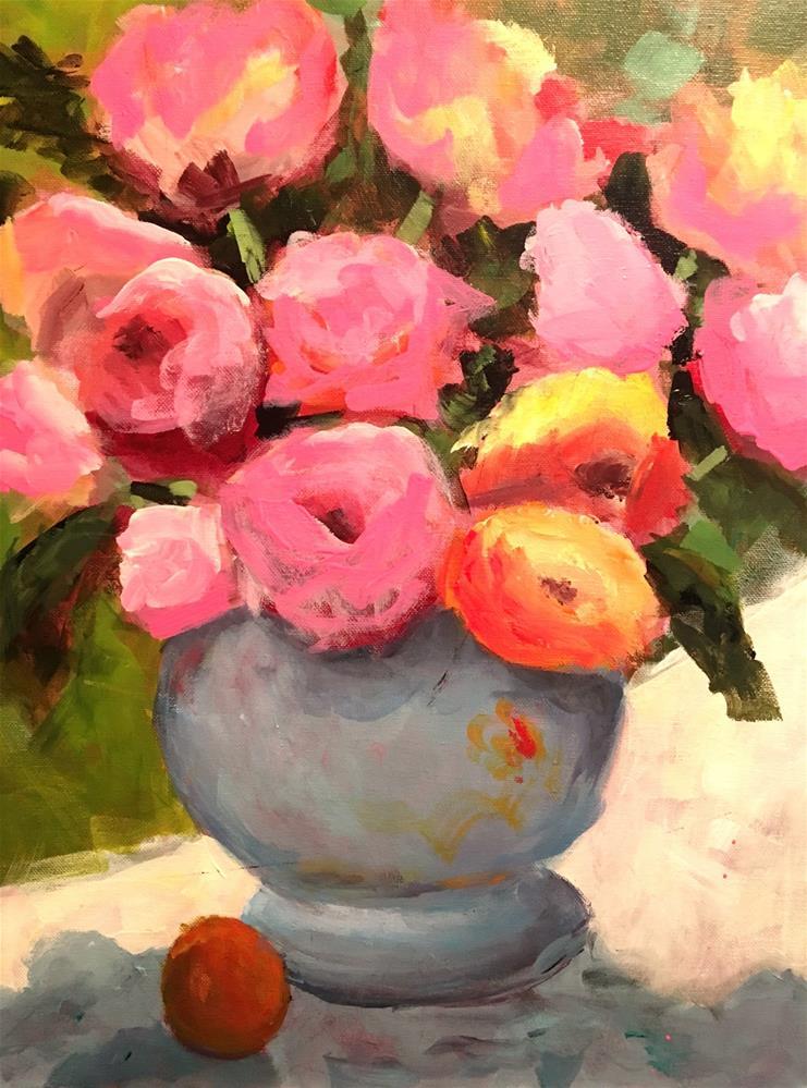 """Charisma Class Demo 1"" original fine art by Susan Elizabeth Jones"