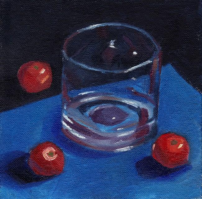 """Glass, Surrounded"" original fine art by J M Needham"