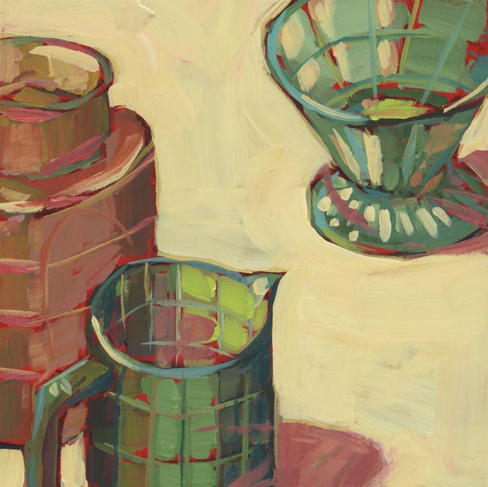 """1206: Gathering of Friends"" original fine art by Brian Miller"