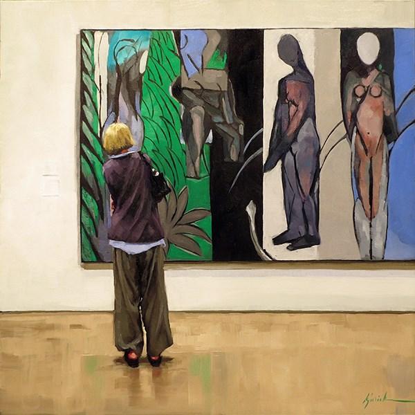 """'Lost in Matisse'"" original fine art by Karin Jurick"