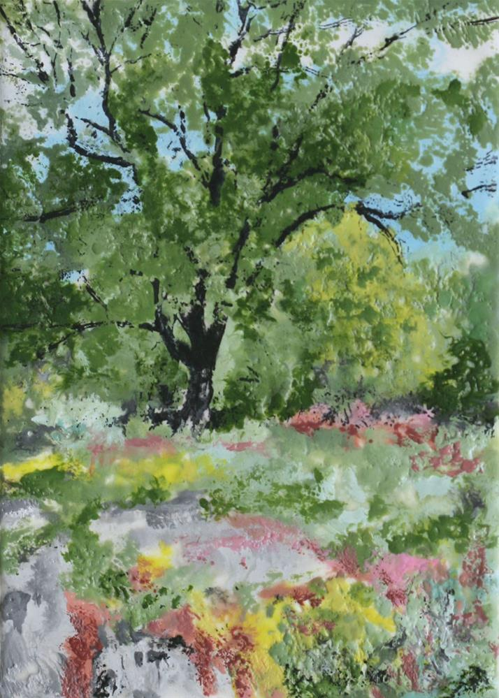 """Fort Tryon Park"" original fine art by Heather Douglas"