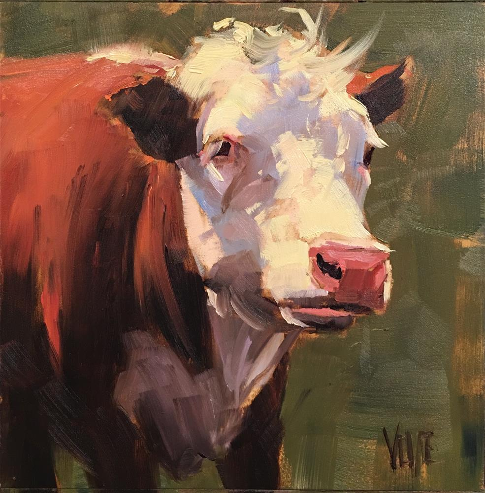 """#383 Bernie"" original fine art by Patty Voje"