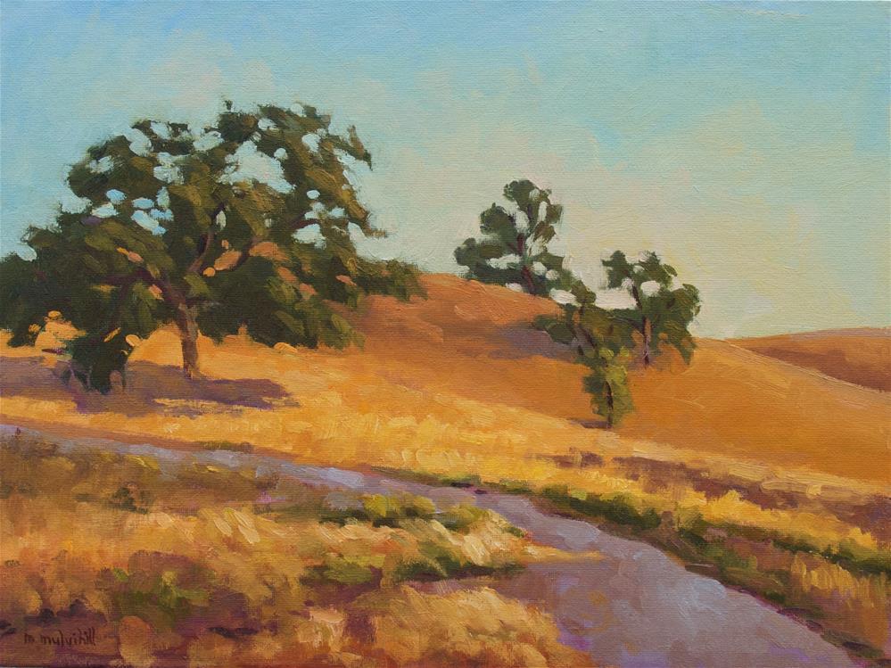 """Engelmann Afternoon"" original fine art by Mary Mulvihill"