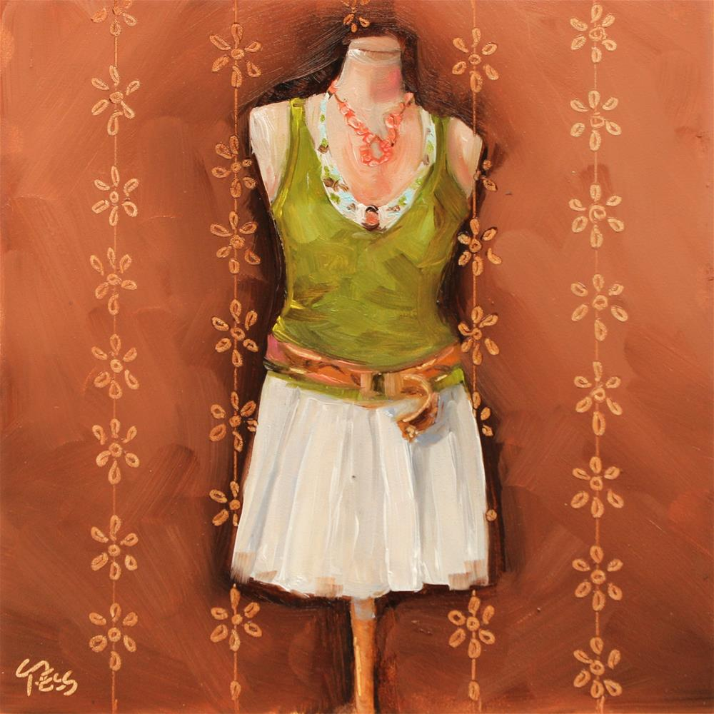 """""""Just A Girl- No Doubt"""" original fine art by Tess Lehman"""