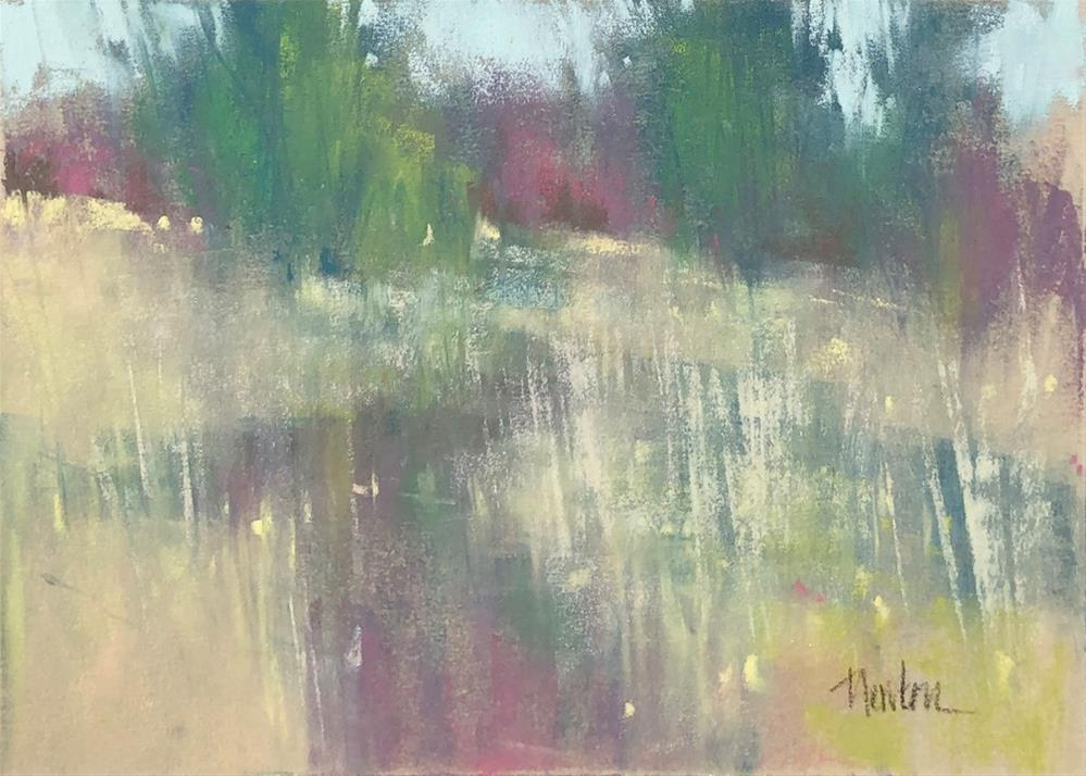 """Meadow 4"" original fine art by Barbara Benedetti Newton"