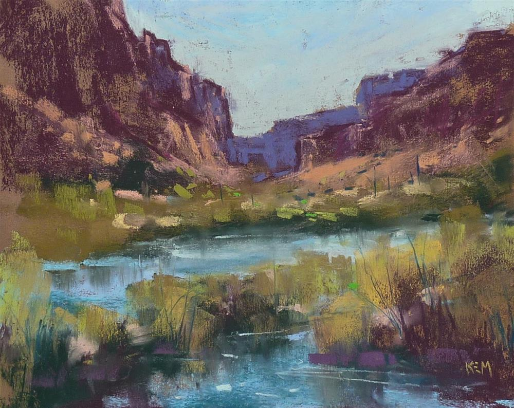 """""""How to Store Finished Plein Air Pastel Paintings"""" original fine art by Karen Margulis"""