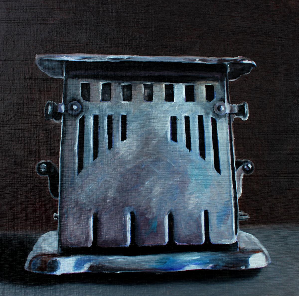"""Vintage Toaster"" original fine art by Lauren Pretorius"