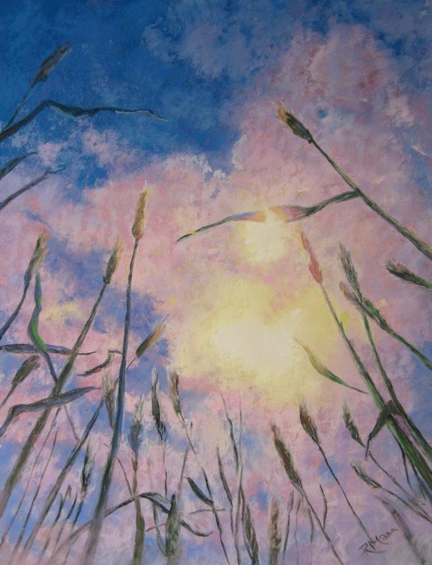 """Dreams of Summer"" original fine art by Ruth Mann"