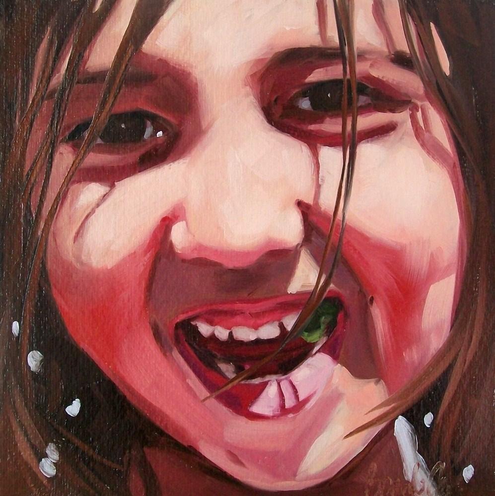 """Girl 11"" original fine art by Brandi Bowman"