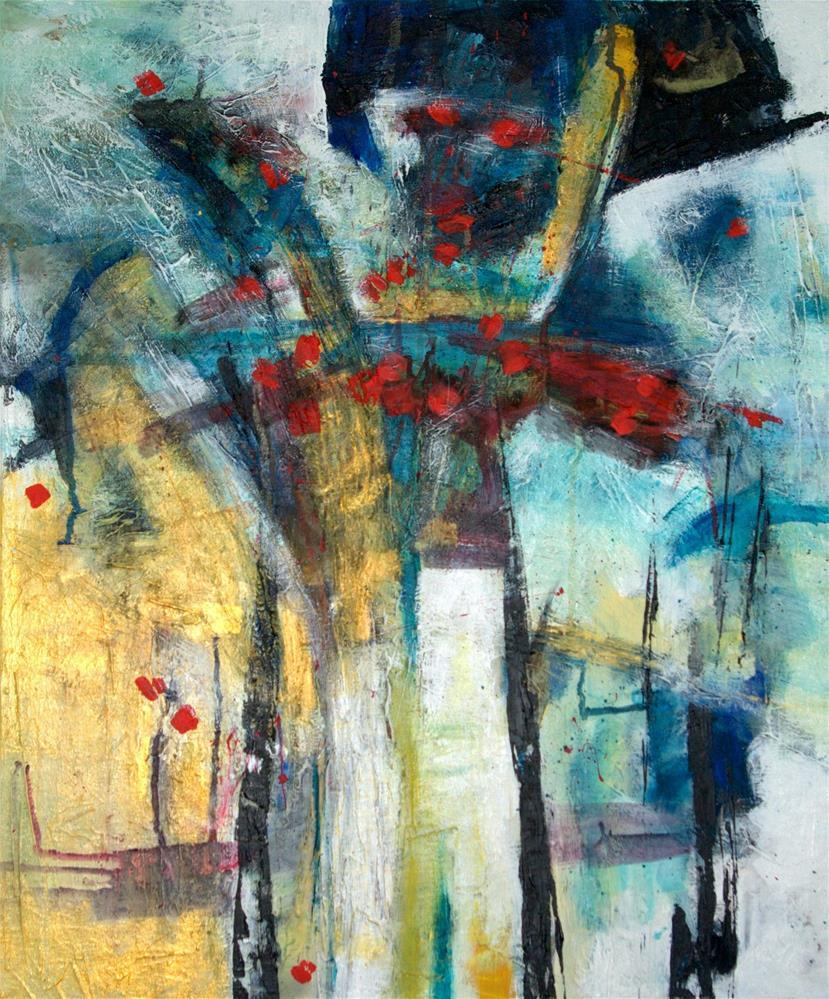 """Heart"" original fine art by Zuzana Petrakova"