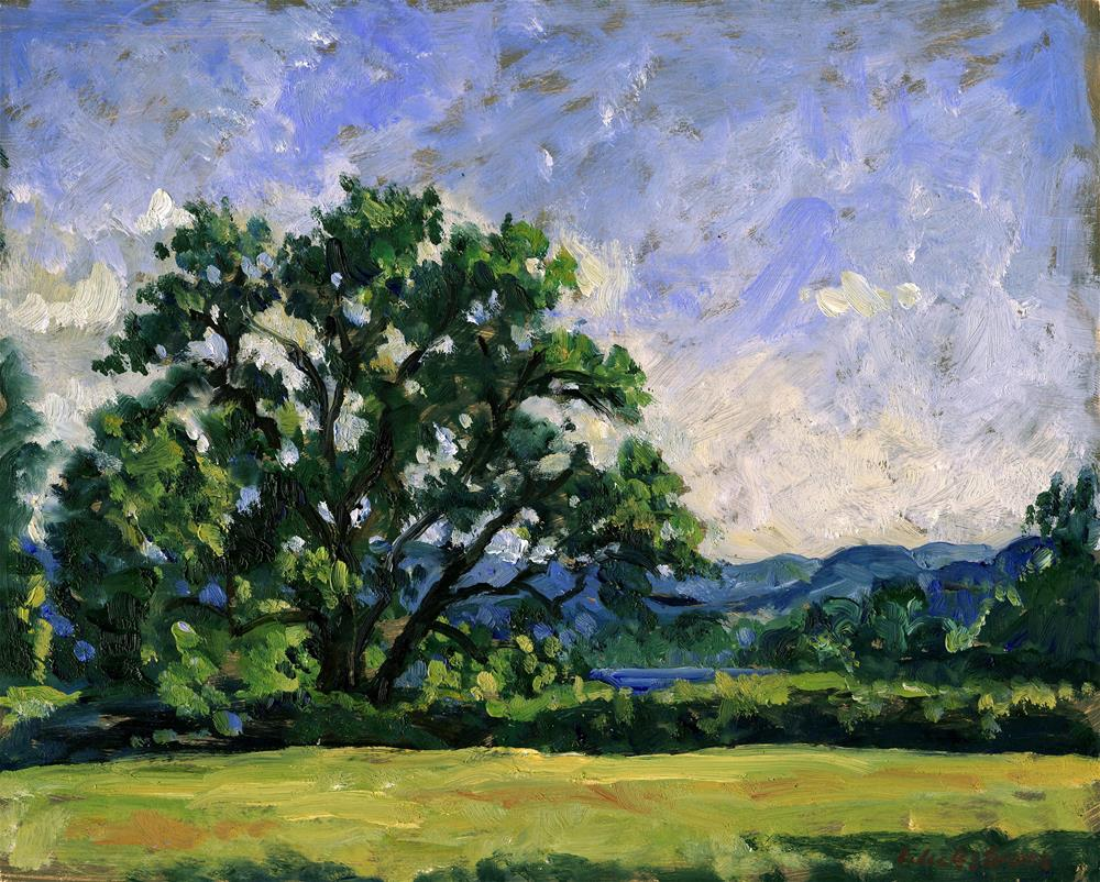 """""""Tanglewood Afternoon"""" original fine art by Thor Wickstrom"""