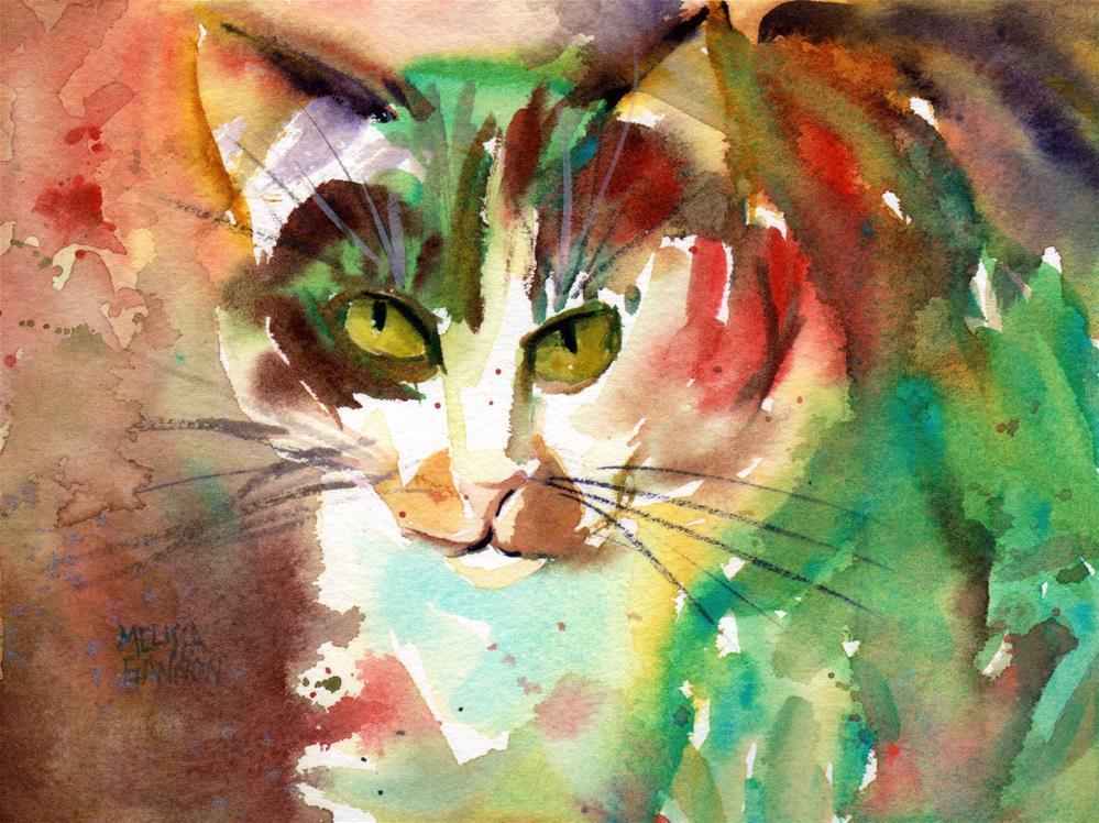 """Calico Love"" original fine art by Melissa Gannon"