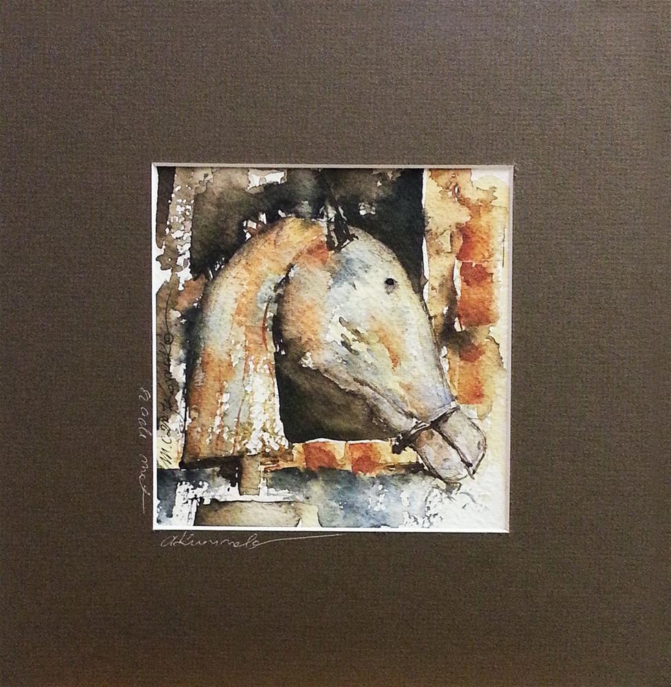 """Checkmate"" original fine art by Marlena Czajkowska"