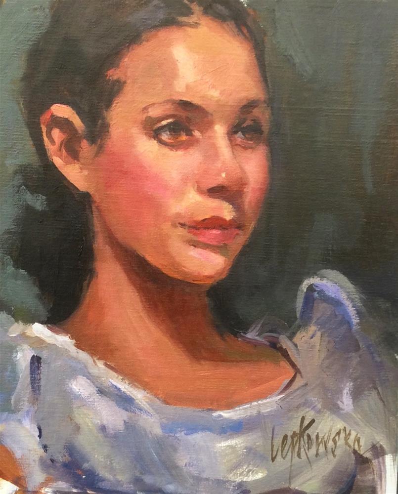 """""""Resplendent"""" original fine art by Laurie Johnson Lepkowska"""