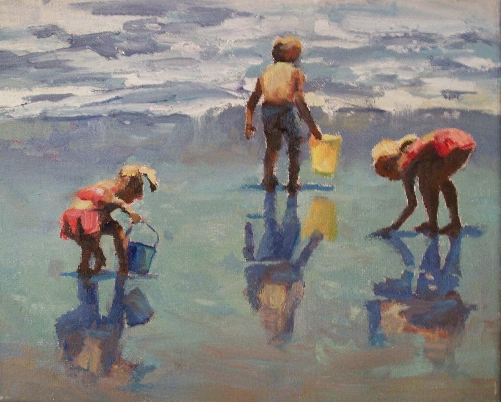 """"""" Look Over Here"""" original fine art by Doug Carter"""