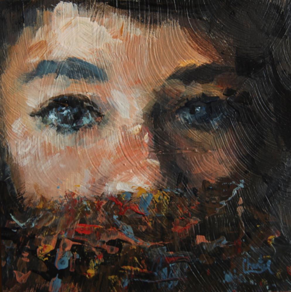 """Find Me"" original fine art by Chantel Barber"