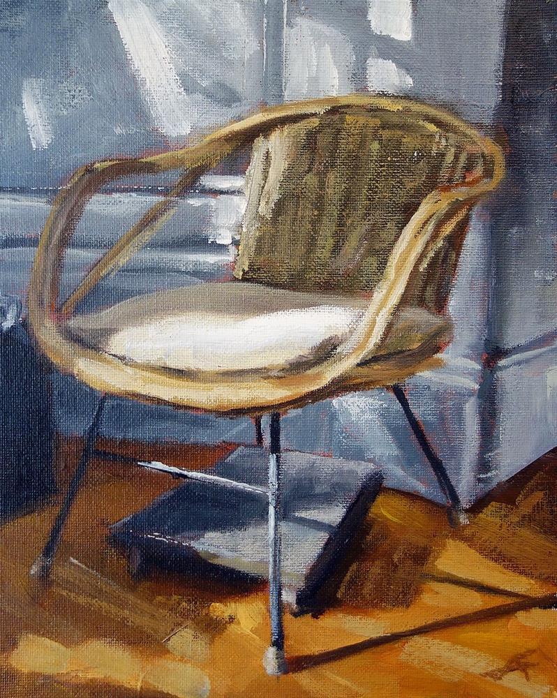 """Her Chair"" original fine art by J. Farnsworth"