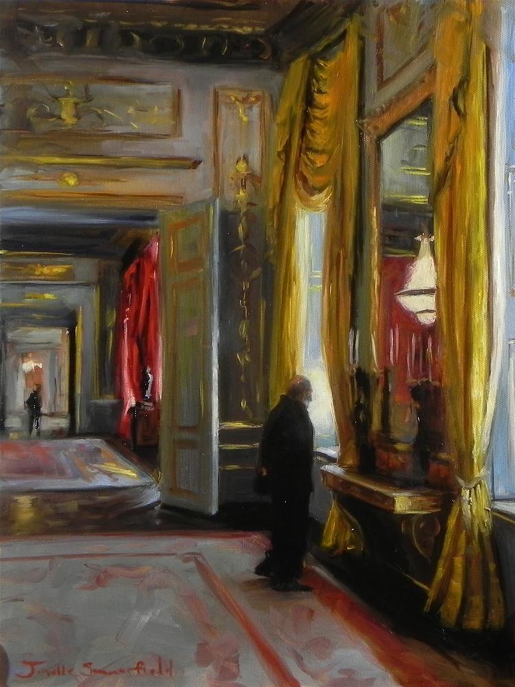 """Albertina Museum"" original fine art by Jonelle Summerfield"