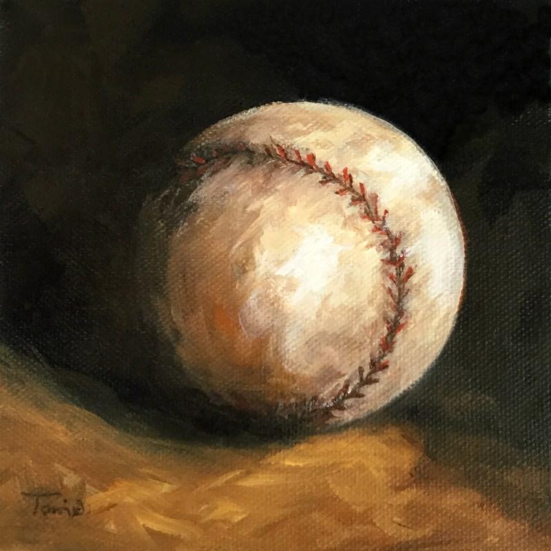 """Baseball VIII"" original fine art by Torrie Smiley"